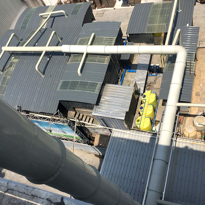 水产公司废水处理站臭气处理设备