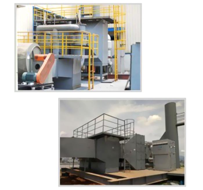 吸附催化燃烧废气处理设备