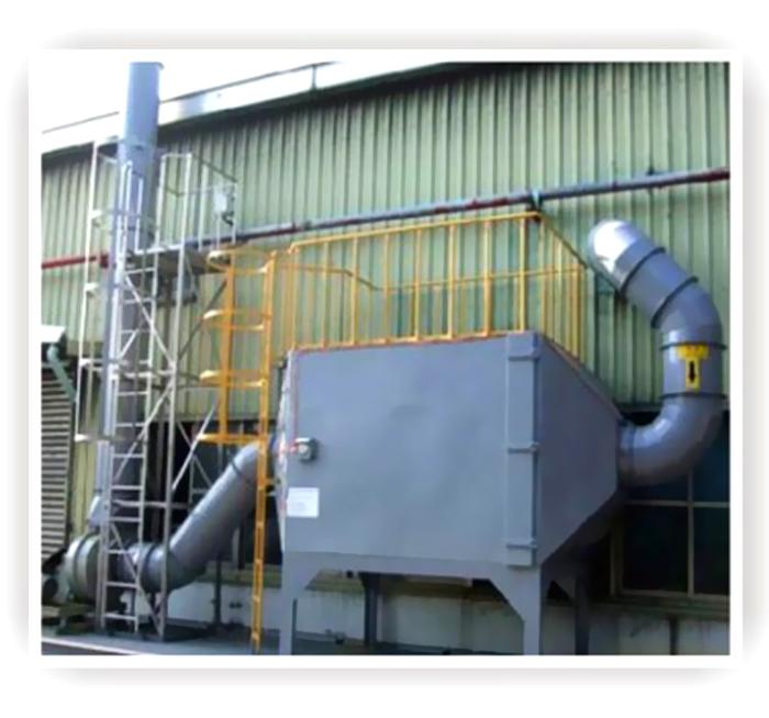 有机废气活性炭处理设备